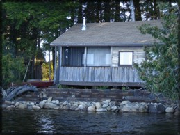 Maine Lake Cabin Rentals - Big House Cabin